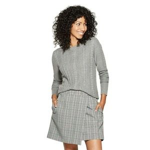 NWT A New Day Crewneck Pullover Sweater XS Gray
